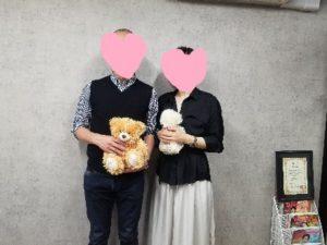 篠原ご夫妻2(白石さん) 2 300x225 - 40代女性のご成婚、入会から入籍まで半年の軌跡